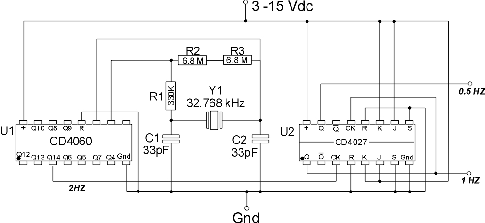 Digital Clock Circuit Using 7490 http://jagpreetsinghtamber.blogspot.com/2011/08/digital-clock-using-7490.html
